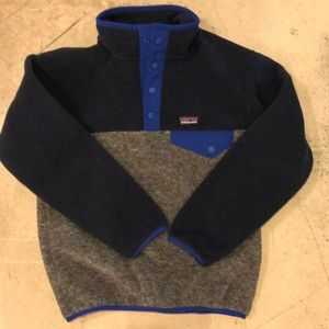 Patagonia Boys LW Synchilla Snap T Pullover